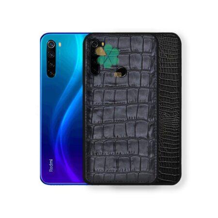 قیمت کاور چرمی گوشی شیائومی Redmi Note 8 2021 طرح Crocodile Skin
