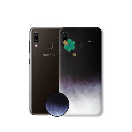 خرید کاور گوشی سامسونگ Samsung Galaxy A30 طرح MoonChild