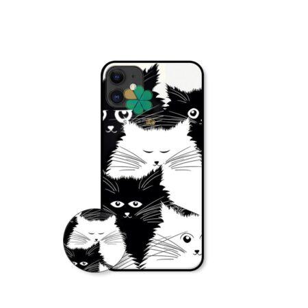 خرید کاور گوشی اپل آیفون Apple iPhone 12 Mini طرح Smelly Cat