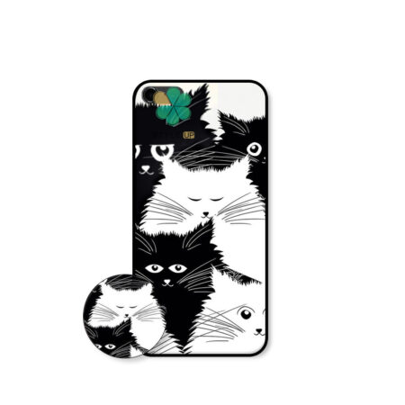 خرید کاور گوشی اپل آیفون iPhone 5 / SE / 5S طرح Smelly Cat