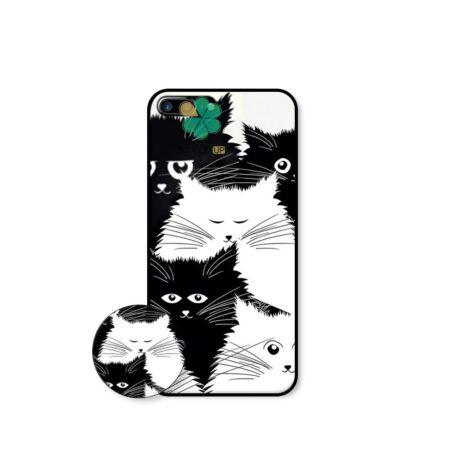 خرید کاور گوشی اپل iPhone 7 Plus / 8 Plus طرح Smelly Cat