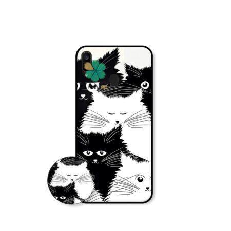 خرید کاور گوشی سامسونگ Samsung Galaxy A30 طرح Smelly Cat