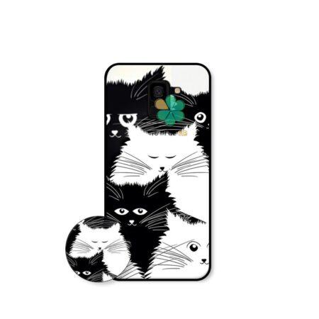 خرید کاور گوشی سامسونگ Samsung Galaxy J6 طرح Smelly Cat