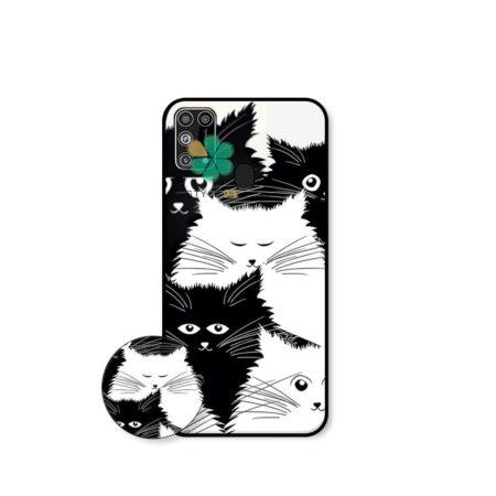خرید کاور گوشی سامسونگ Samsung Galaxy M31 طرح Smelly Cat