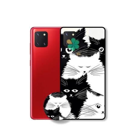خرید کاور گوشی سامسونگ Galaxy Note 10 Lite / A81 طرح Smelly Cat