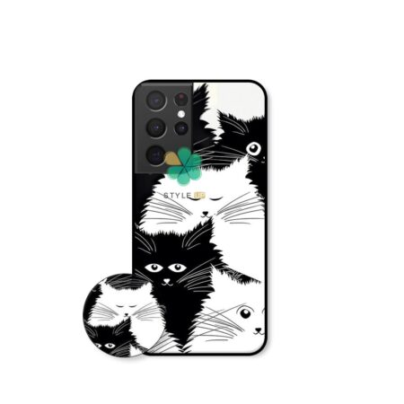خرید کاور گوشی سامسونگ Samsung Galaxy S21 Ultra طرح Smelly Cat