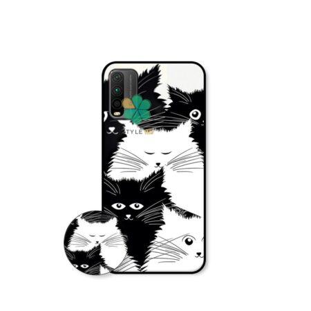 خرید کاور گوشی شیائومی Xiaomi Redmi 9T طرح Smelly Cat