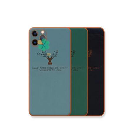 خرید قاب گوزنی برند GKK گوشی ایفون iPhone 11 Pro Max مدل Gold Elk