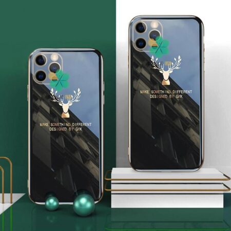 خرید قاب گوزنی برند GKK گوشی ایفون iPhone 12 Pro مدل Gold Elk
