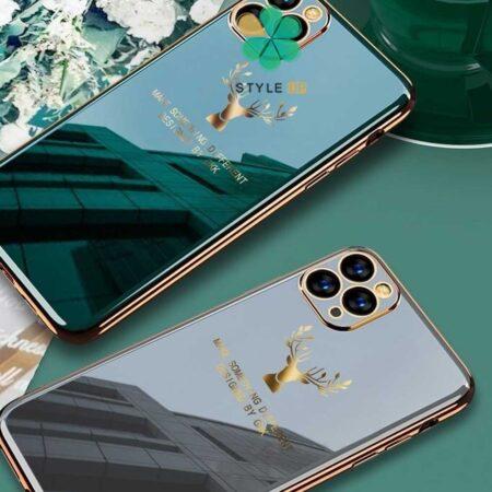 خرید قاب گوزنی برند GKK گوشی ایفون iPhone 12 Pro Max مدل Gold Elk