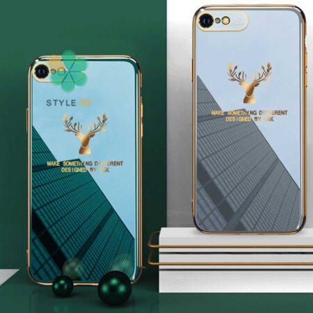 عکس قاب گوزنی برند GKK گوشی ایفون Apple iPhone SE 2020 مدل Gold Elk