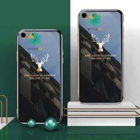 خرید قاب گوزنی برند GKK گوشی ایفون Apple iPhone SE 2020 مدل Gold Elk
