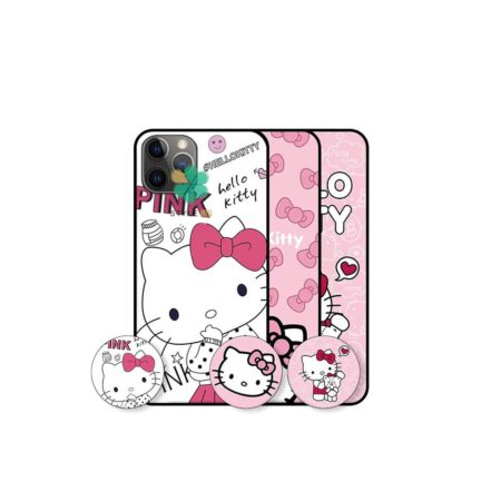خرید قاب دخترانه گوشی اپل Apple iPhone 11 Pro Max طرح Hello Kitty