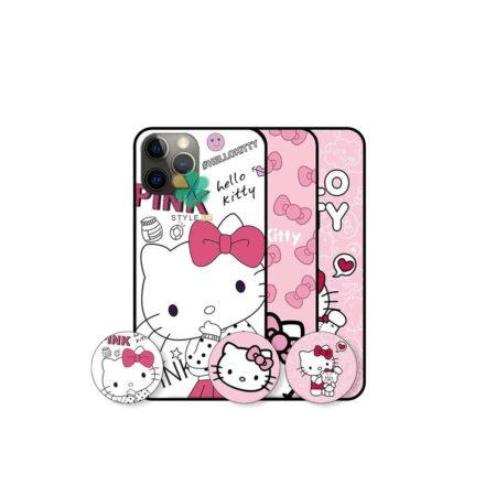 خرید قاب دخترانه گوشی اپل Apple iPhone 12 Pro Max طرح Hello Kitty