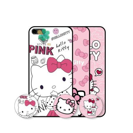 خرید قاب دخترانه گوشی اپل آیفون iPhone 6 / 6s طرح Hello Kitty