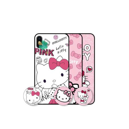 خرید قاب دخترانه گوشی اپل Apple iPhone X / XS طرح Hello Kitty