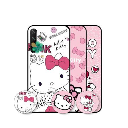 خرید قاب دخترانه گوشی هواوی Huawei Honor 20 Pro طرح Hello Kitty