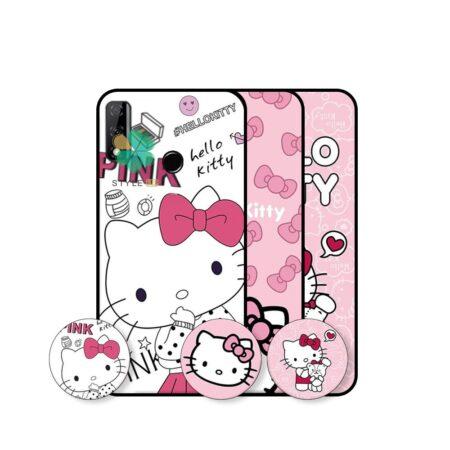 خرید قاب دخترانه گوشی هواوی Huawei Y8s طرح Hello Kitty