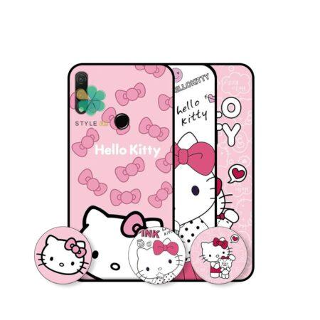 خرید قاب دخترانه گوشی هواوی Huawei Y9 2019 طرح Hello Kitty