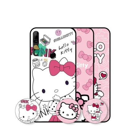 خرید قاب دخترانه گوشی هواوی Huawei Y9 Prime 2019 طرح Hello Kitty