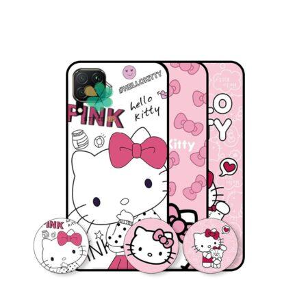 خرید قاب دخترانه گوشی هواوی Huawei Nova 7i طرح Hello Kitty