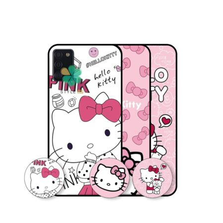 خرید قاب دخترانه گوشی سامسونگ Samsung Galaxy A02s طرح Hello Kitty