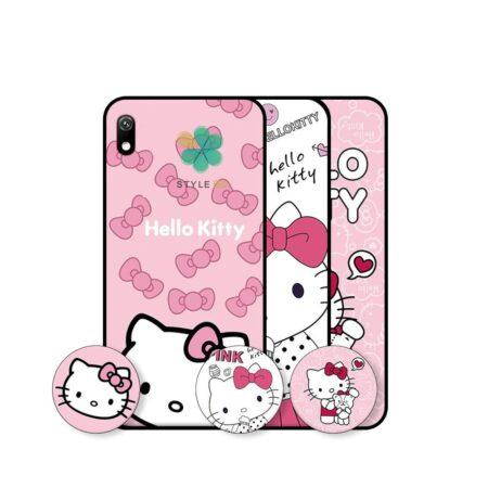 خرید قاب دخترانه گوشی سامسونگ Samsung Galaxy A10 طرح Hello Kitty