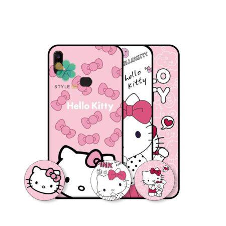 خرید قاب دخترانه گوشی سامسونگ Samsung Galaxy A10s طرح Hello Kitty