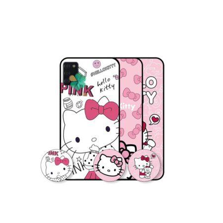 خرید قاب دخترانه گوشی سامسونگ Samsung Galaxy A31 طرح Hello Kitty