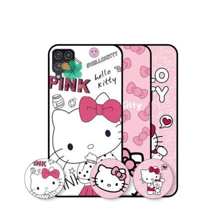 خرید قاب دخترانه گوشی سامسونگ Samsung Galaxy A42 طرح Hello Kitty