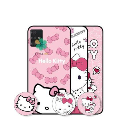 خرید قاب دخترانه گوشی سامسونگ Samsung Galaxy A71 طرح Hello Kitty