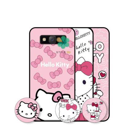 خرید قاب دخترانه گوشی سامسونگ Samsung Galaxy J2 Prime طرح Hello Kitty
