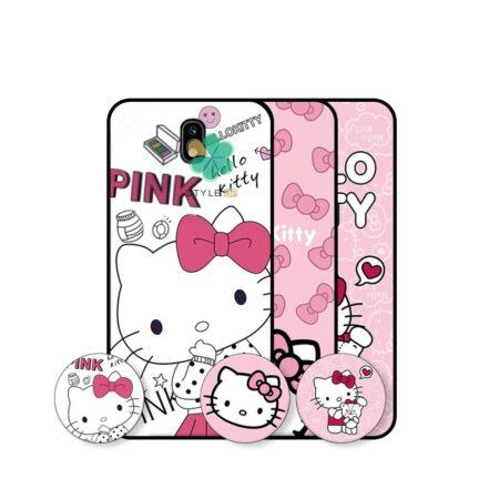 خرید قاب دخترانه گوشی سامسونگ Samsung Galaxy J5 2017 طرح Hello Kitty