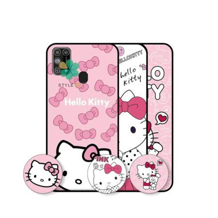 خرید قاب دخترانه گوشی سامسونگ Samsung Galaxy M31 طرح Hello Kitty