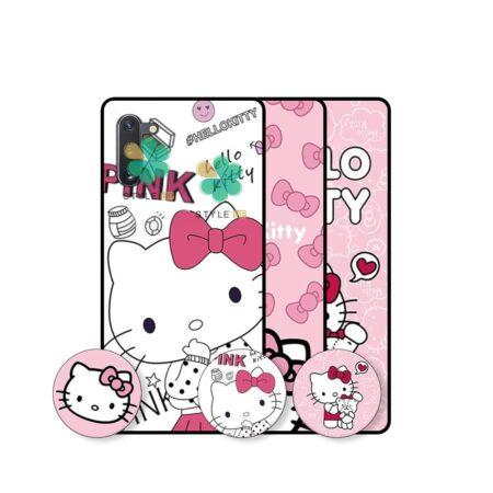 قیمت قاب دخترانه گوشی سامسونگ Samsung Galaxy Note 10 طرح Hello Kitty