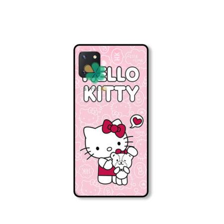 خرید قاب دخترانه گوشی سامسونگ Galaxy Note 10 Lite / A81 طرح Hello Kitty