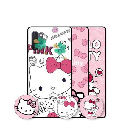 قیمت قاب دخترانه گوشی سامسونگ Galaxy Note 10 Plus طرح Hello Kitty