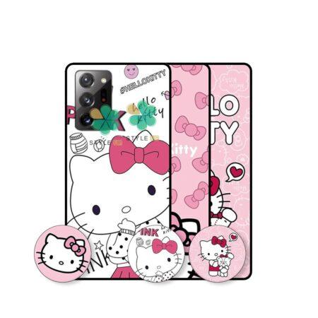 قیمت قاب دخترانه گوشی سامسونگ Galaxy Note 20 Ultra طرح Hello Kitty