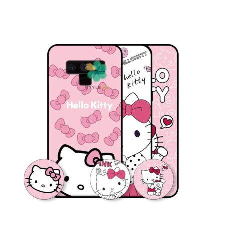 قیمت قاب دخترانه گوشی سامسونگ Samsung Galaxy Note 9 طرح Hello Kitty