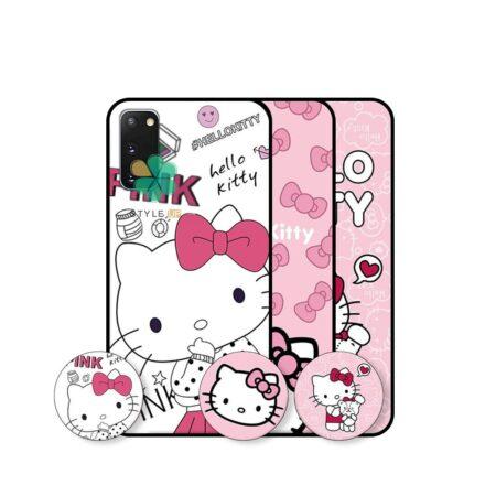 قیمت قاب دخترانه گوشی سامسونگ Galaxy S20 / S20 5G طرح Hello Kitty