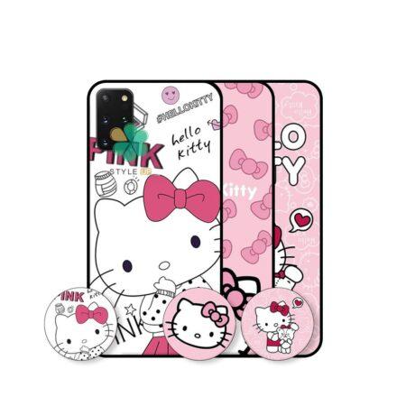 خرید قاب دخترانه گوشی سامسونگ Galaxy S20 PLus طرح Hello Kitty