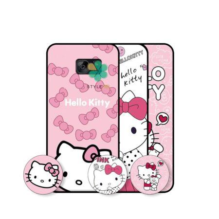 خرید قاب دخترانه گوشی سامسونگ Samsung Galaxy S7 طرح Hello Kitty