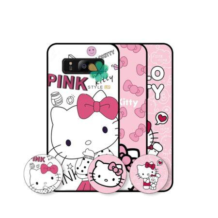 خرید قاب دخترانه گوشی سامسونگ Samsung Galaxy S8 طرح Hello Kitty