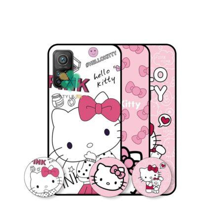 خرید قاب دخترانه گوشی شیائومی Xiaomi Mi 10T طرح Hello Kitty