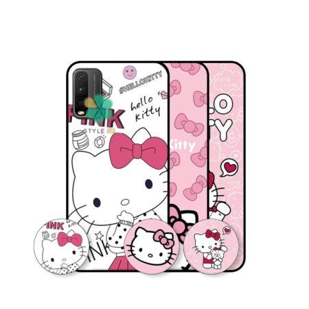 خرید قاب دخترانه گوشی شیائومی Xiaomi Redmi 9T طرح Hello Kitty