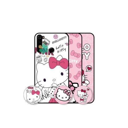 خرید کاور دخترانه گوشی شیائومی Redmi Note 8 2021 طرح Hello Kitty