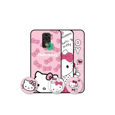 خرید قاب دخترانه گوشی شیائومی Redmi Note 9 طرح Hello Kitty
