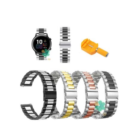 خرید بند ساعت هواوی Honor Magic Watch 2 42mm مدل استیل دو رنگ