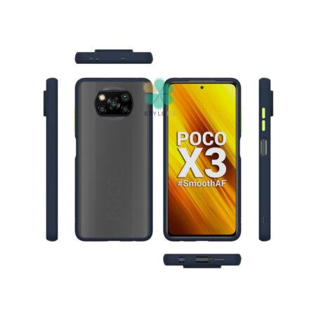 خرید کاور محافظ گوشی شیائومی Xiaomi Poco X3 مدل پشت مات