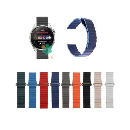 خرید بند چرمی ساعت هواوی واچ Huawei Watch 3 Pro مدل Leather Loop